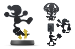 amiibo mr game and watch