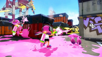 Splatoon DLC 1 screenshots 08