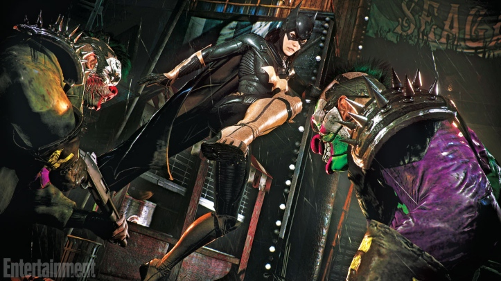 batgirl arkham knight screenshots 02