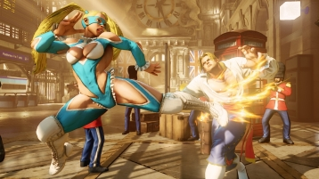 rainbow mika street fighter V 05
