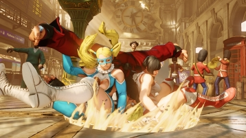 rainbow mika street fighter V 09