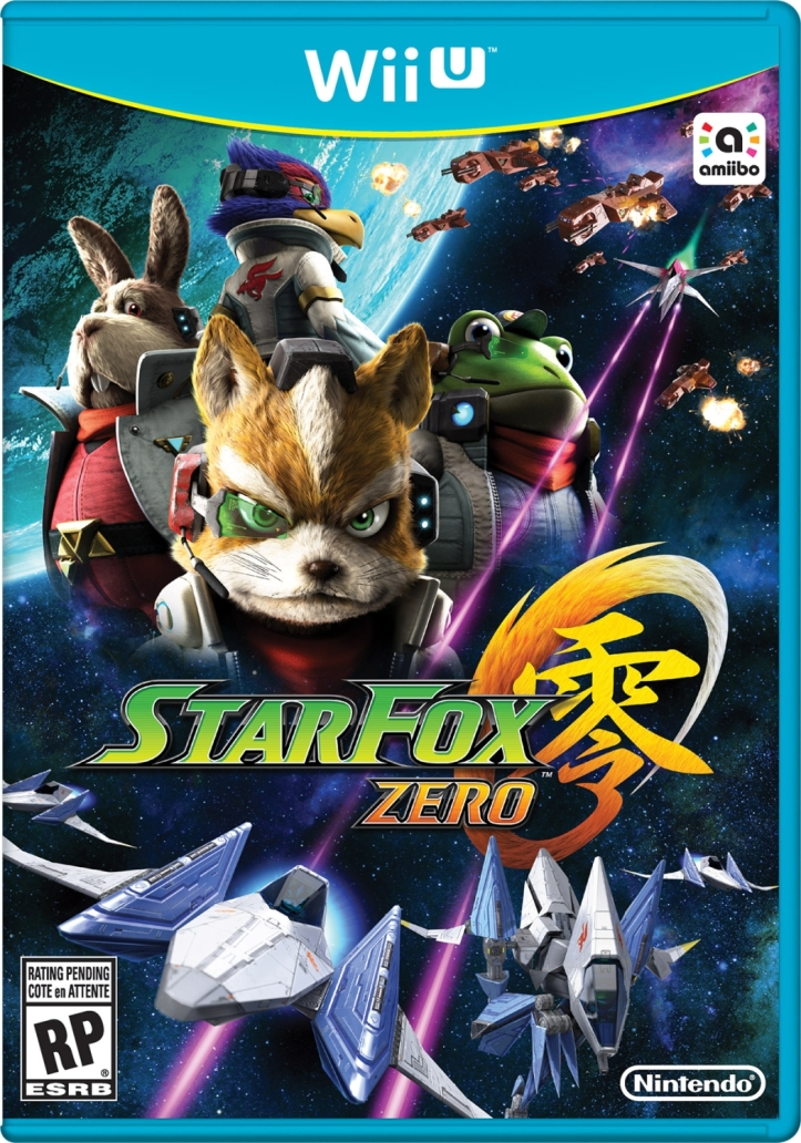 star fox zero box art wii u