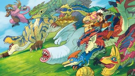 monster hunter stories art
