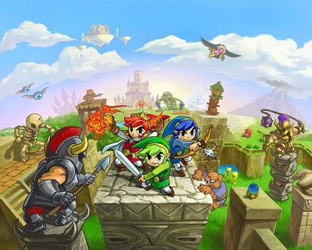 the legend of zelda triforce heroes 3ds