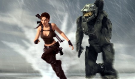 lara croft master chief