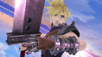 cloud FFVII super smash bros screenshots 01