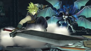 cloud FFVII super smash bros screenshots 02