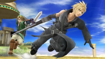 cloud FFVII super smash bros screenshots 03