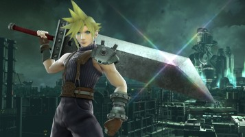 cloud FFVII super smash bros screenshots 04