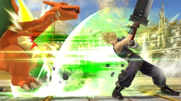 cloud FFVII super smash bros screenshots 07