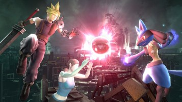 cloud FFVII super smash bros screenshots 08