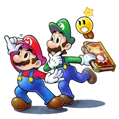 Mario & Luigi Paper Jam Bros art 03
