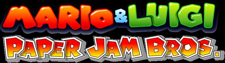 Mario & Luigi Paper Jam Bros logo