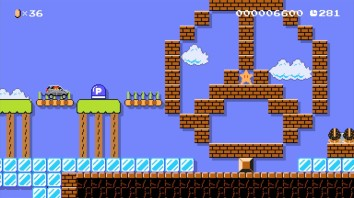 Mercedes Benz Super Mario Maker 2