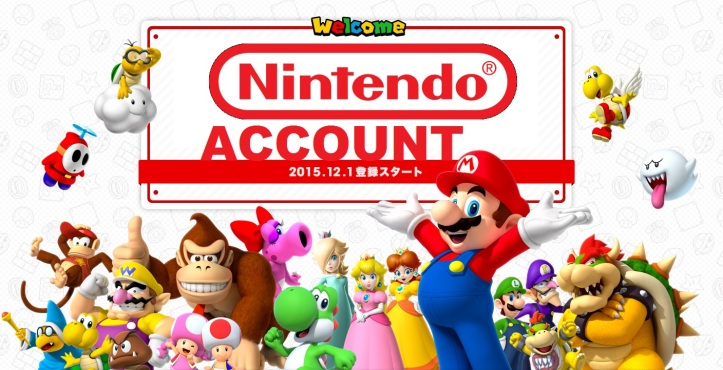 nintendo account japan