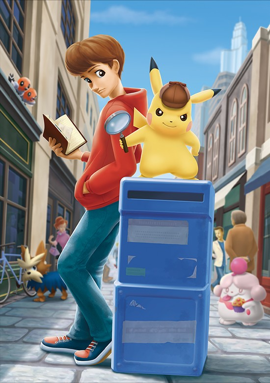 Great Detective Pikachu art