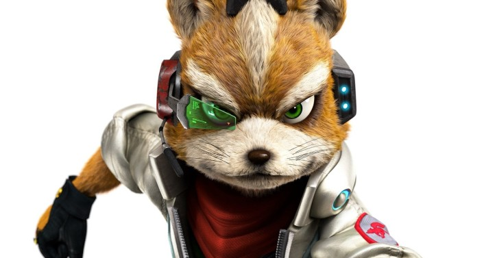 fox mccloud art wii u