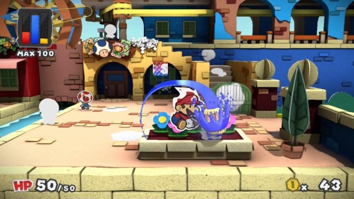 Paper Mario Color Splash screenshots 06