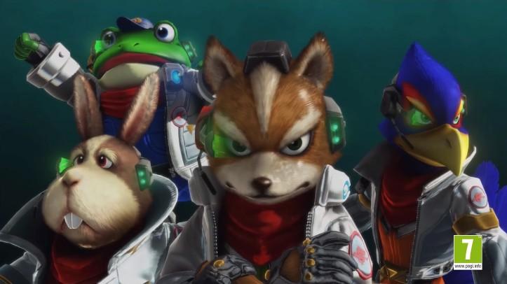 Star Fox Zero team