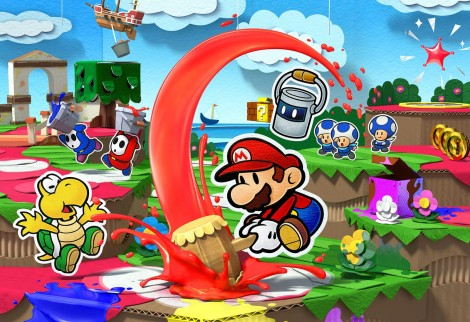 Paper Mario Color Splash E3 2016 01