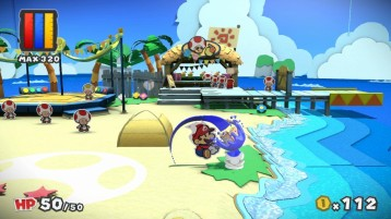Paper Mario Color Splash E3 2016 06