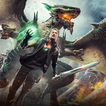 scalebound art work platinum games