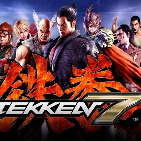 tekken 7 logo characters