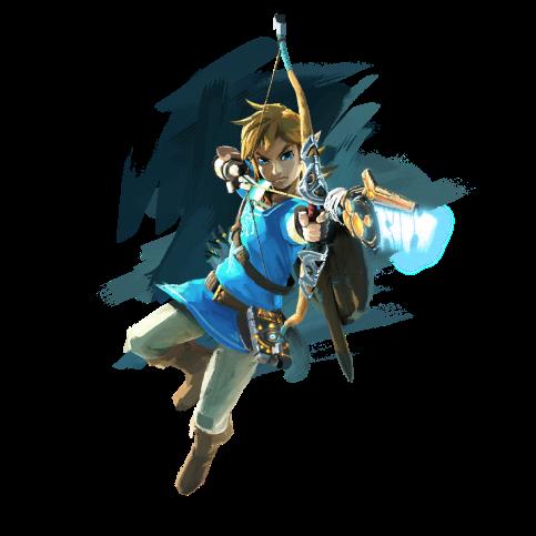 The Legend of Zelda Breath of the Wild art 01
