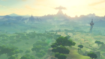 The Legend of Zelda Breath of the Wild world 02