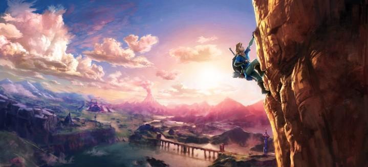 Zelda Breath of the Wild art work 01