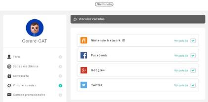 Nintendo Account NX