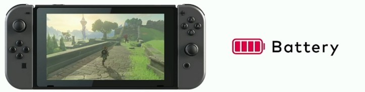 battery Nintendo Switch