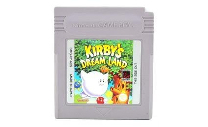 kirby's dream land game boy cartridge
