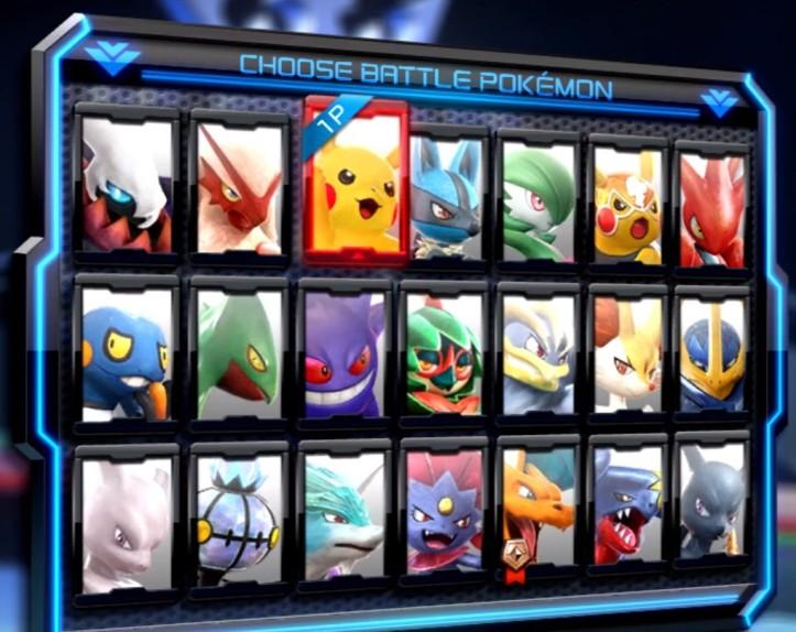 Pokken Tournament DX switch